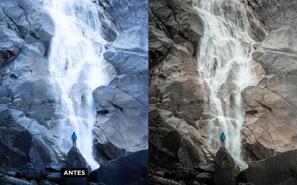 edição de fotos - antes e depois 2
