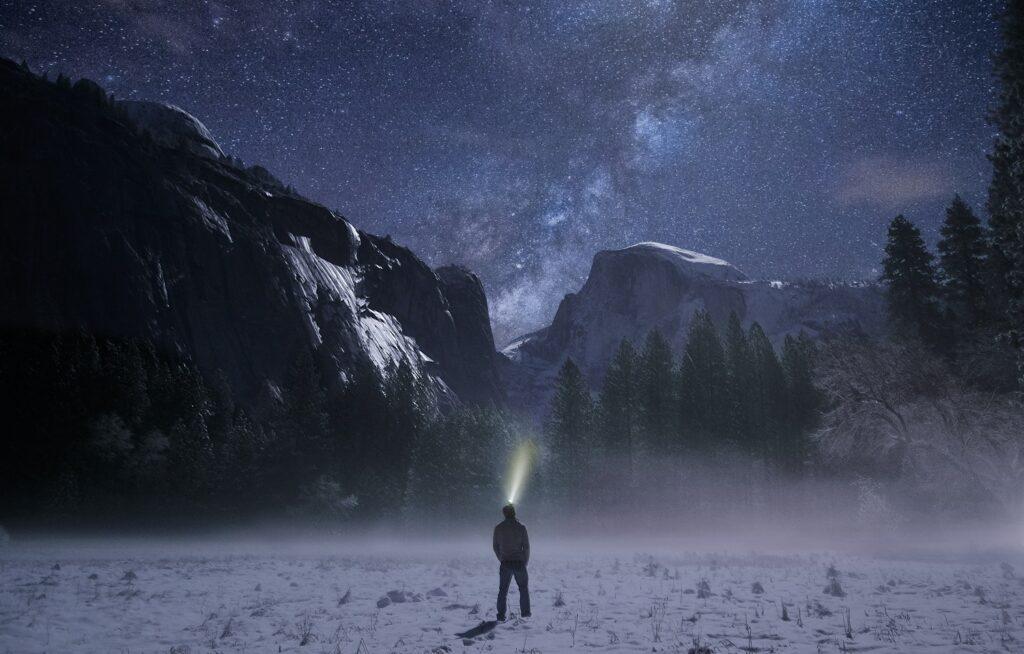 fotos noturnas incríveis - lanterna
