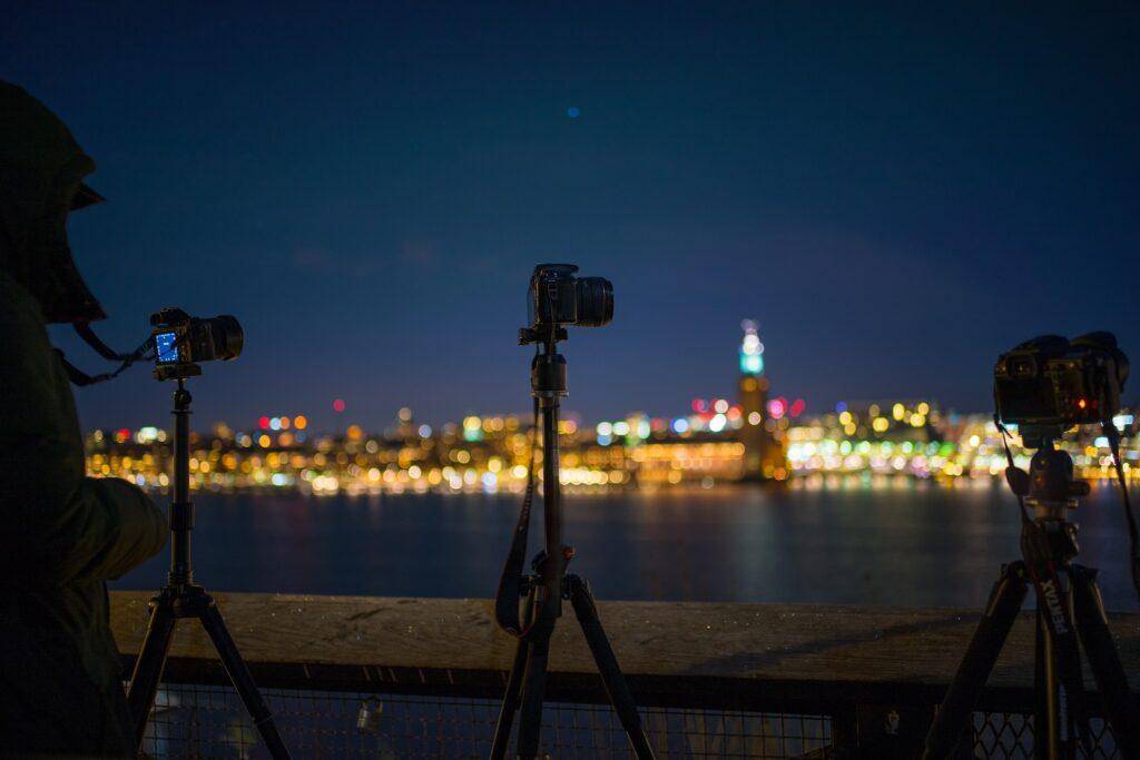 fotos noturnas incríveis - tripé