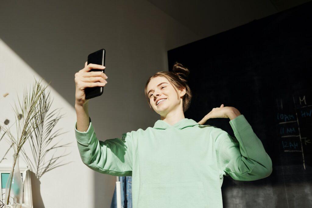 selfies - cuidado com a luz
