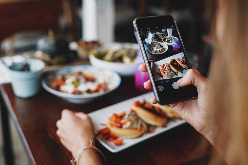 fotos com o celular - fotografia de comida com um iphone
