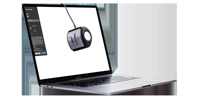 calibrar o monitor - xrite i1 display
