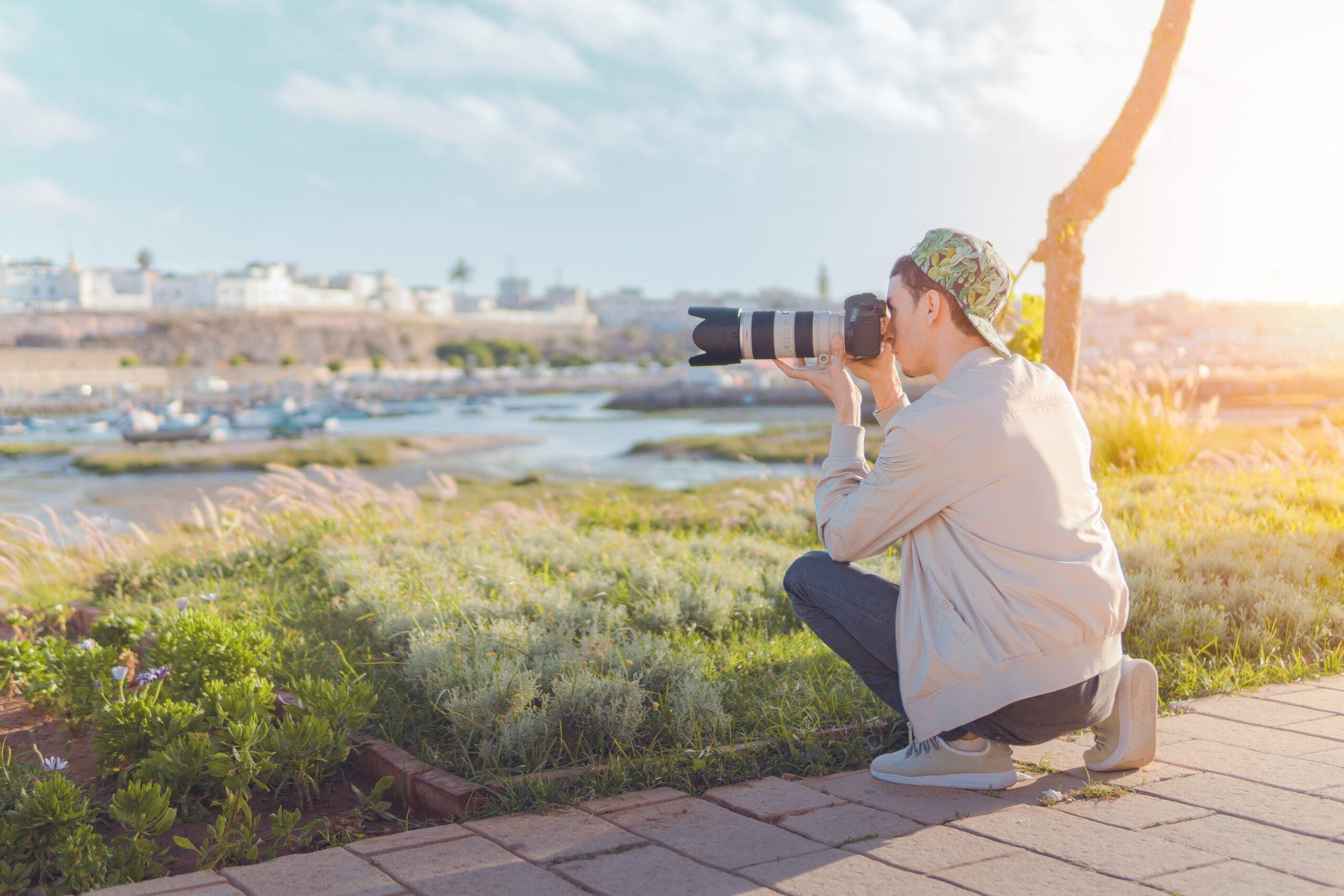 A importância do cenário na fotografia